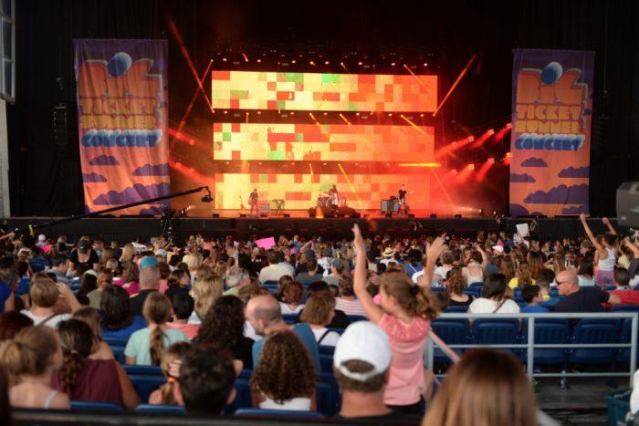 big ticket concert stage