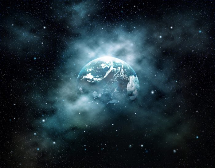 space sounds earth