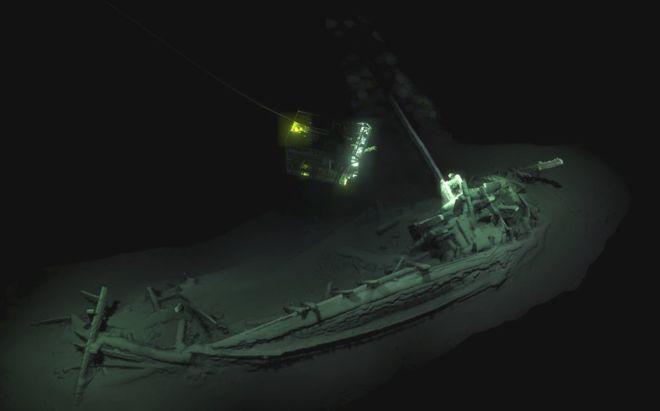 shipwreck Black Sea