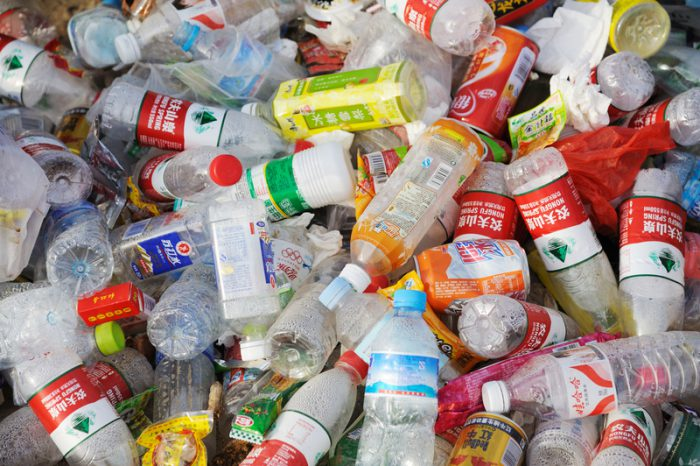 china single-use plastics
