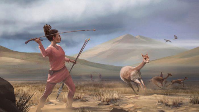 female hunters