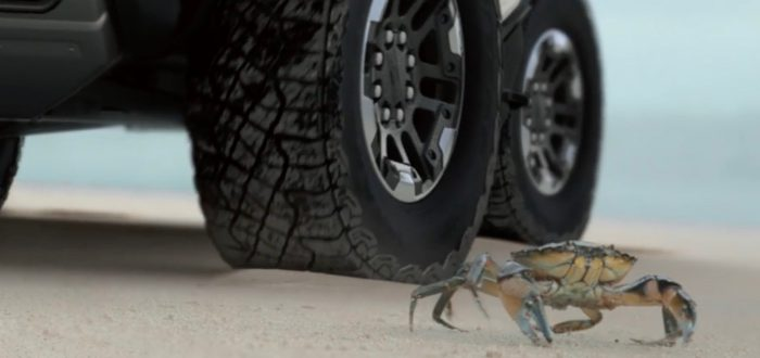 This futuristic electric truck can do the 'Crab Walk'