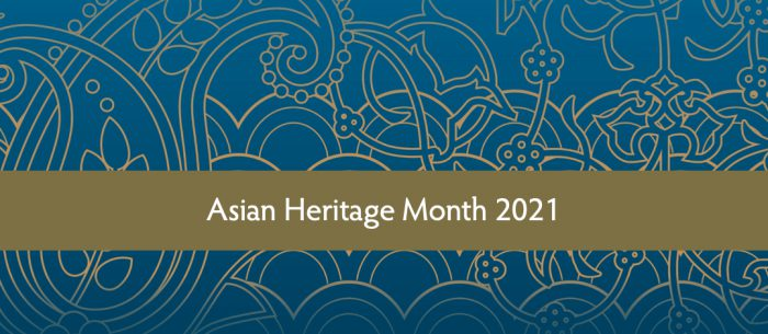 Celebrating Asian Heritage Month!