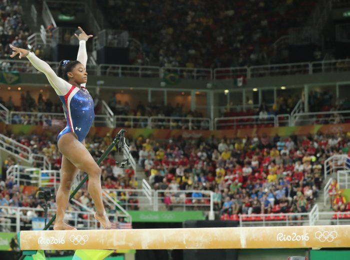 Simone Biles makes history! Again!