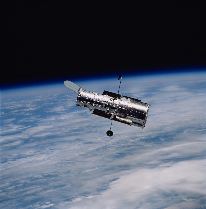 What photo did the Hubble Space Telescope take on your birthday?