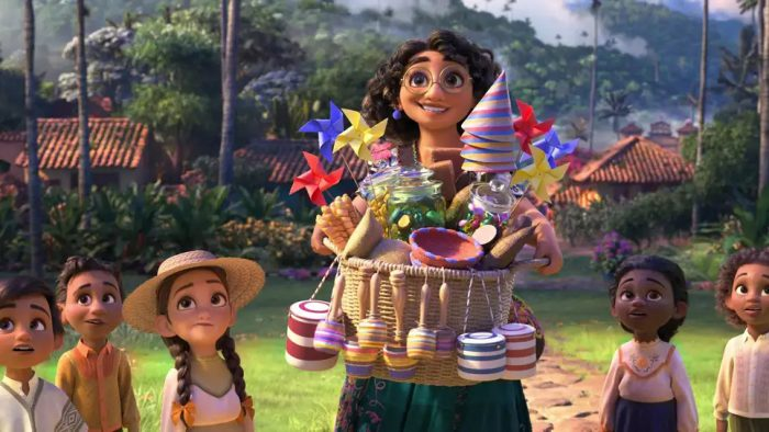 Disney's new film Encanto looks charmed and charming!