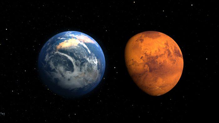 Mars has a gooey liquid centre!