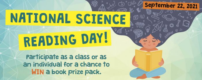 Getting ready for National Science Reading Day (and the contest!)