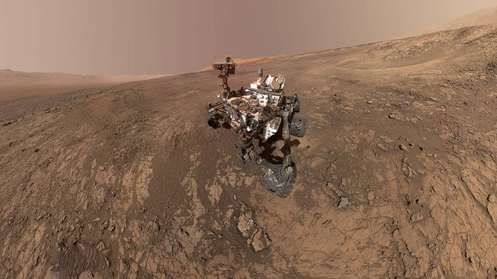 New pictures from Curiosity rover show changing Martian landscape