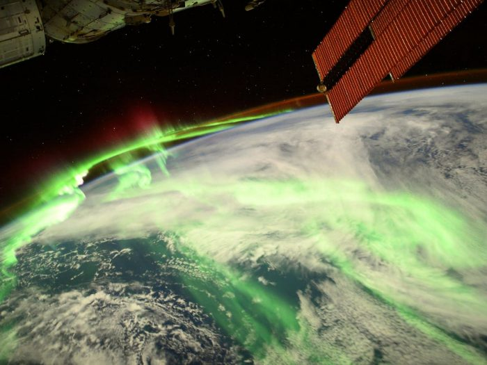 Astronaut snaps jaw-dropping photo of an aurora from space!