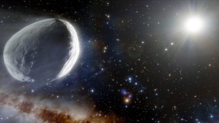 Enormous comet visiting from deep space is a behemoth